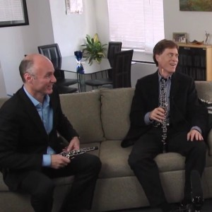 Oboe Doublers Rick Heckman and Dan Willis