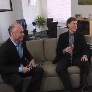 Oboe Doublers Rick Heckman and Dan Willis