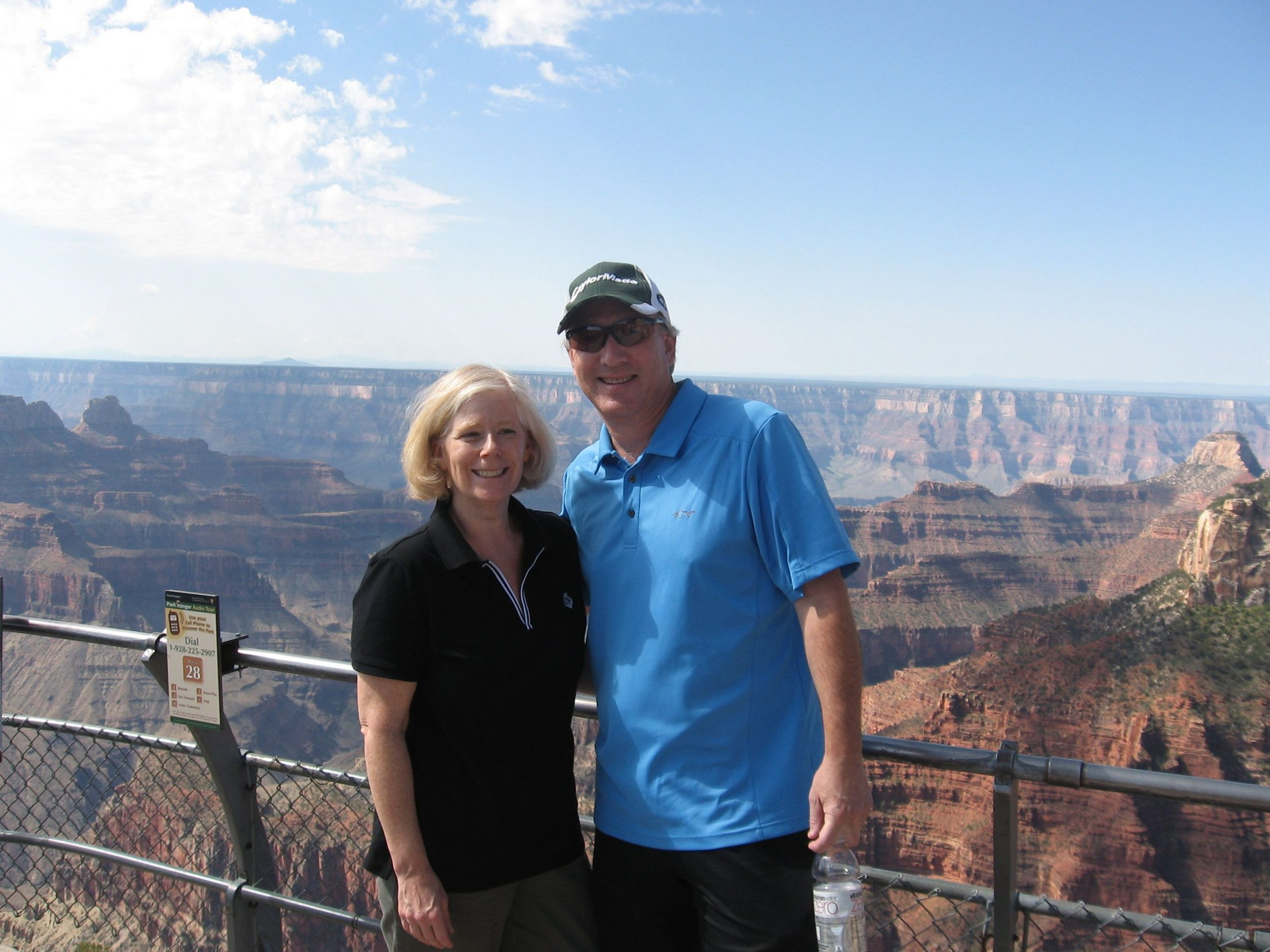 Jeanne and Ed at The Grand Canyon