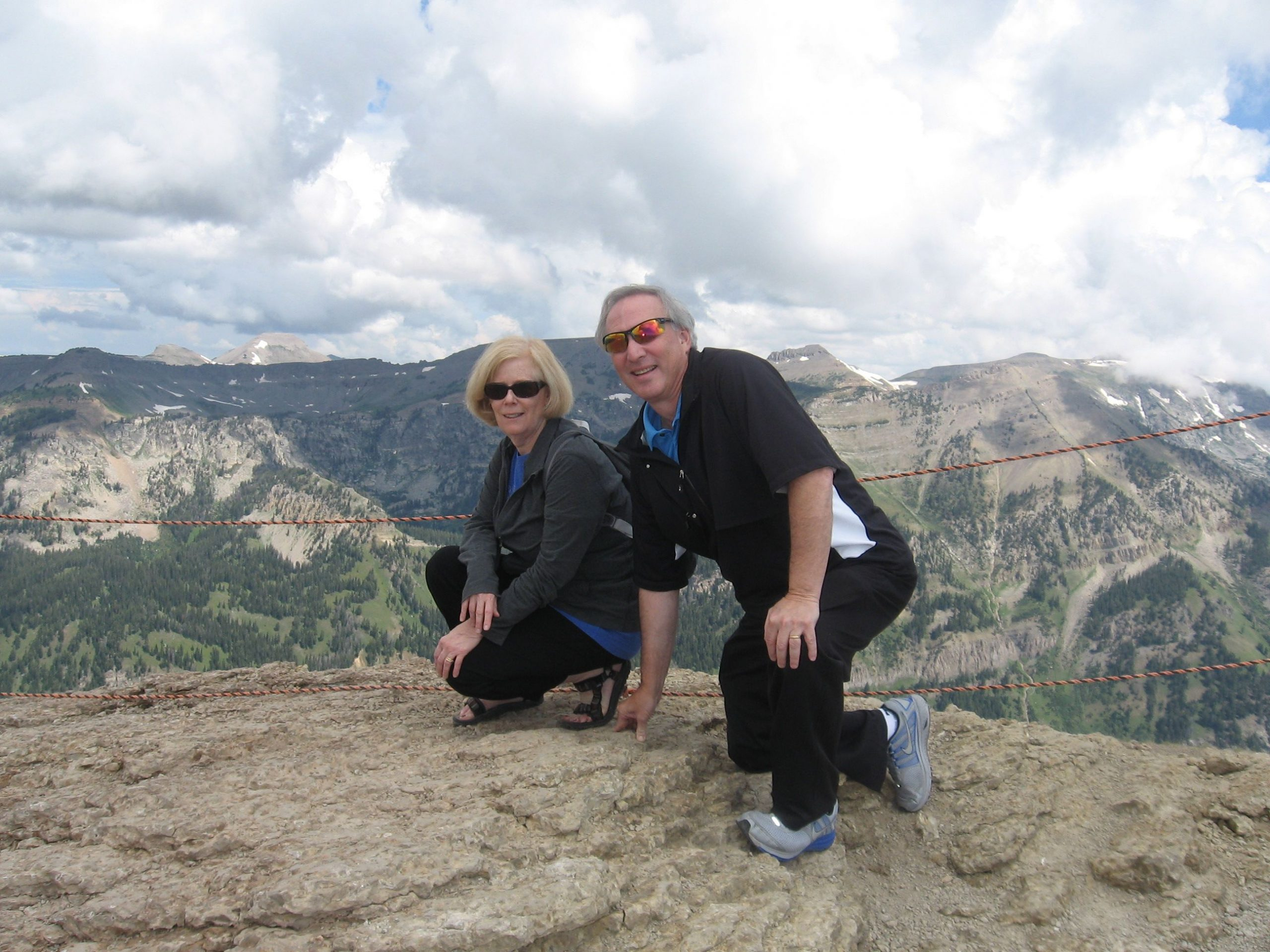 Ed and Jeanne at The Grand Tetons