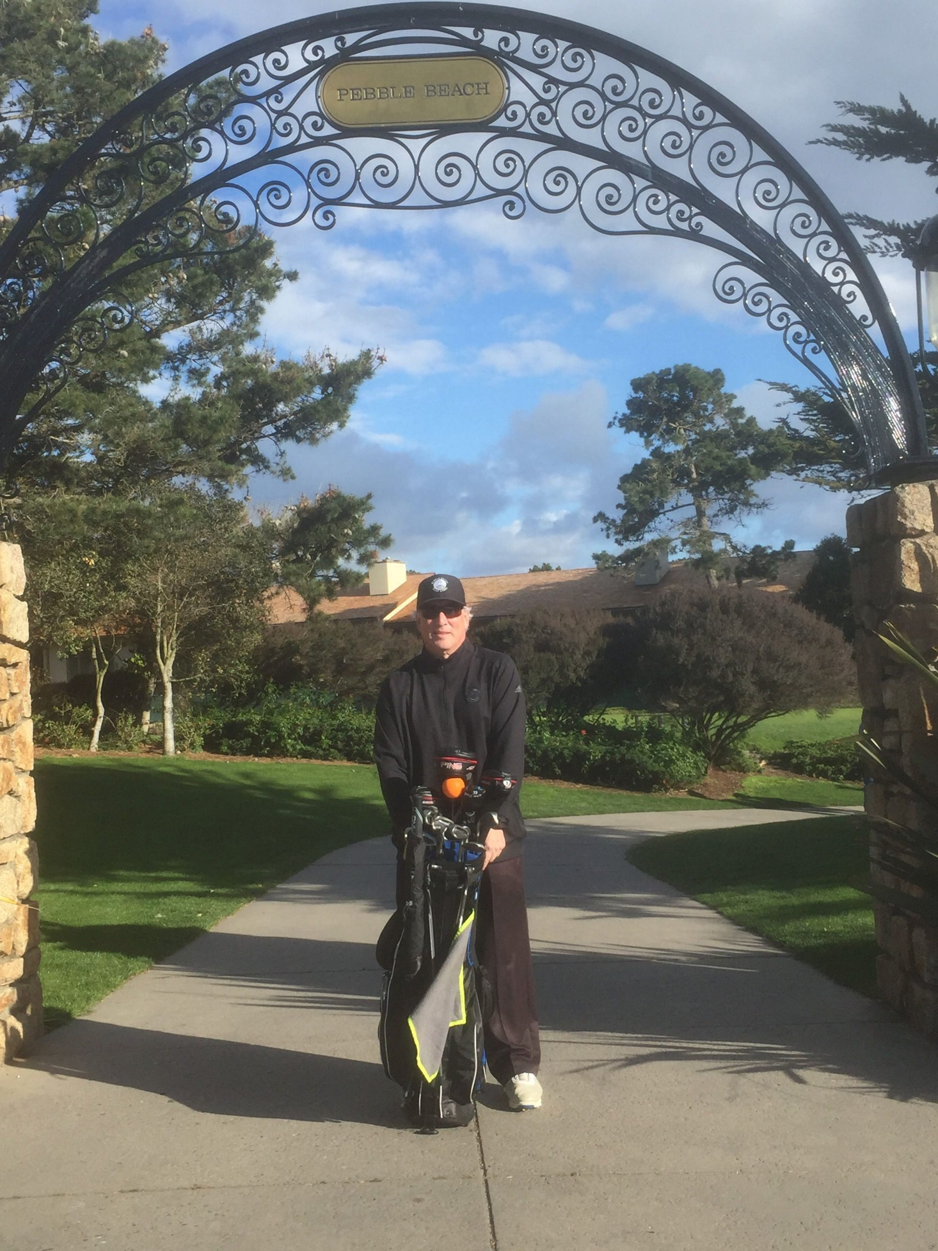 Ed at Pebble Beach