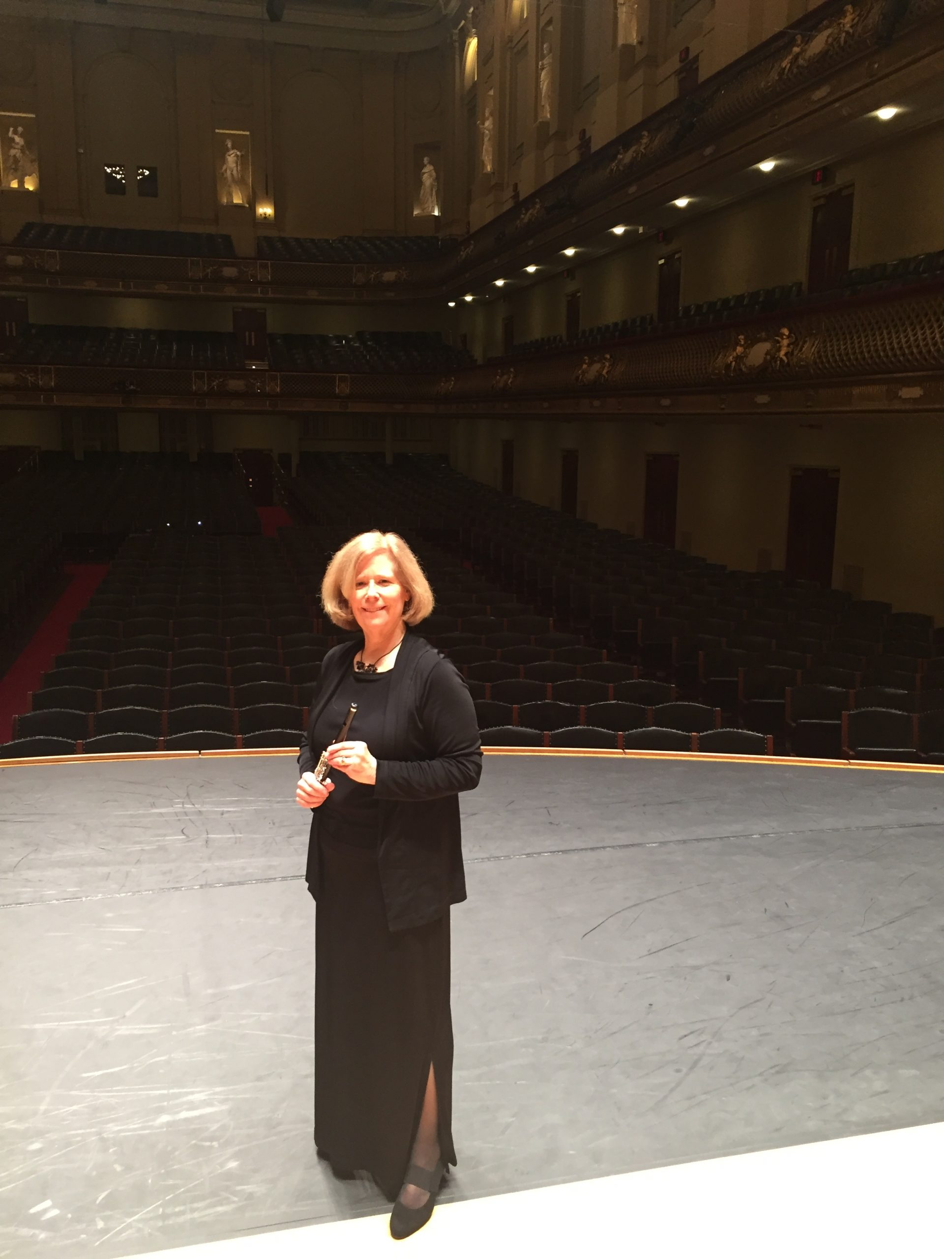 Jeanne at Symphony Hall