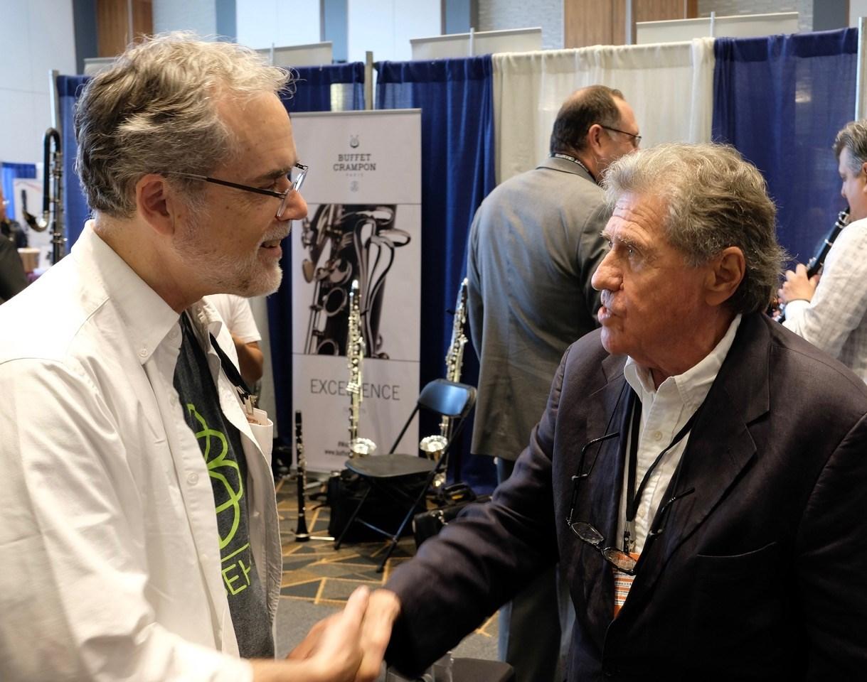 Bill Hudgins and Stanley Drucker