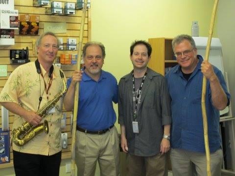 D'Addario Factory: Ed, Brian Terrell, employee, Dan Goble