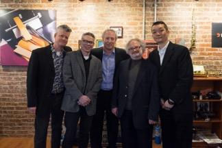 Bill Singer, Tony Salimbene, Ed, Marc Jacobi, Tomoji Hirakata